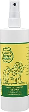 Grannicks Bitter Apple for Dogs Spray Bottle 16 Ounces