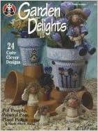 Garden Delights: Pot People, Painted Pots, Plant Pokes & Much Much More (Design Originals) written by Linda Jordan