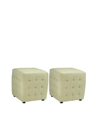 Safavieh Kristof Ottoman (Set Of 2), Off White