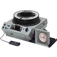 Kodak Ektagraphic III ATS Slide Projector with Built in Slide Viewer