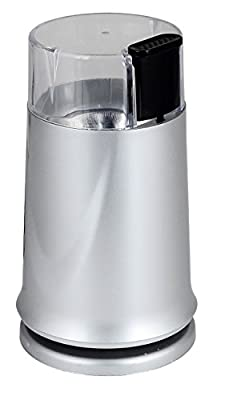 Kabalo 150W Silver Electric Coffee Bean Grinder Mill & Coffee, Nuts, Spice Grinder by Kabalo