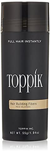 Toppik Hair Building Fibers - Medium Blonde (1.94 oz / 55g)