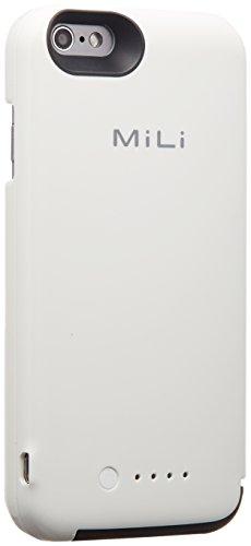 MiLi Power Spring6 Apple認証 (Made for iPhone取得) iPhone6用バッテリーケース 3500mAh ホワイト HI-35WH 777-0199 HI-C35WH