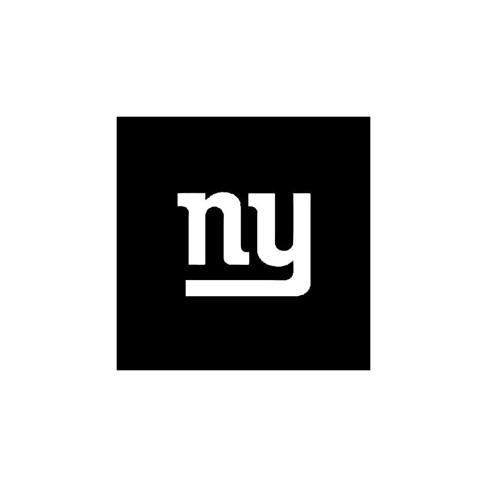 New York Giants Emblem Car Window Decal Sticker White 4