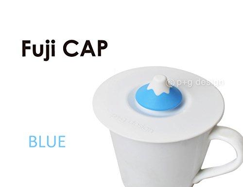 GMCトイズフィールド p+g design Fuji CAP(フジキャップ) 富士山型コップ用上蓋 ブルー PG-19207