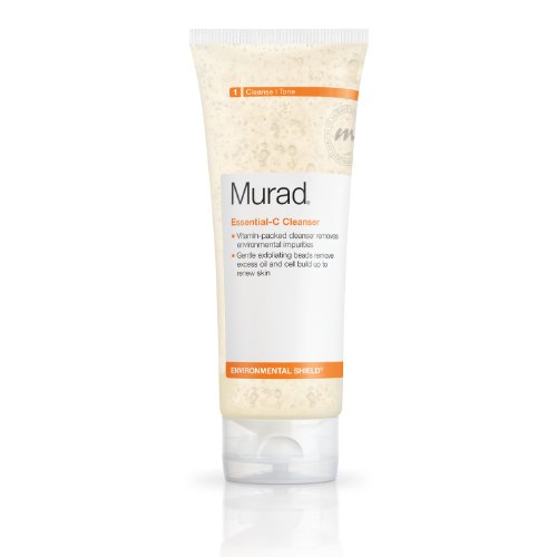 Murad Environmental Shield Essential-C Cleanser, Step 1 Cleanse/Tone, 6.75 Fl Oz (200 Ml)