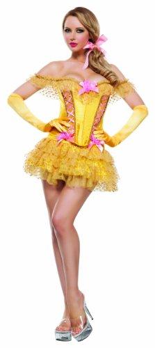 Women's Enchanted Castle Beauty 3 Piece Corset Costume