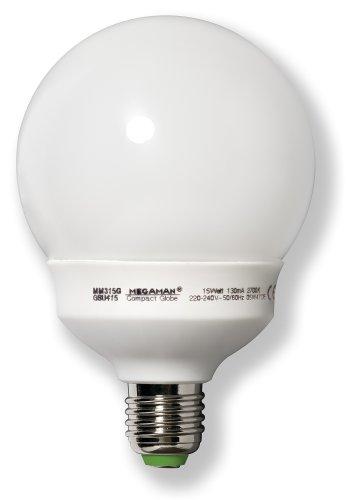 Megaman ESL COMPACT GLO Energiesparlampe 15W E27 230V 827