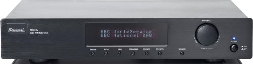 SANSUI DR201 DAB/FM TUNER (BLACK) Black Friday & Cyber Monday 2014