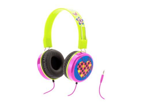 Pink Crayola Myphones Kids Volume-Limiting Headphones