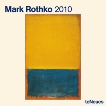2010 Mark Rothko Wall Calendar