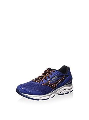 Mizuno Zapatillas de Running Wave Inspire 12 (Azul / Negro)