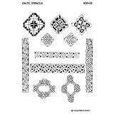 Earth Henna Stencil Pack Celtic, Celtic 1 unit