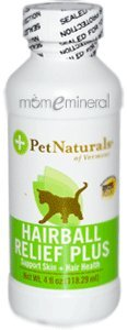 Hairball Relief Plus, For Cats, 4 fl oz (118.29 ml) by Pet Naturals of Vermont