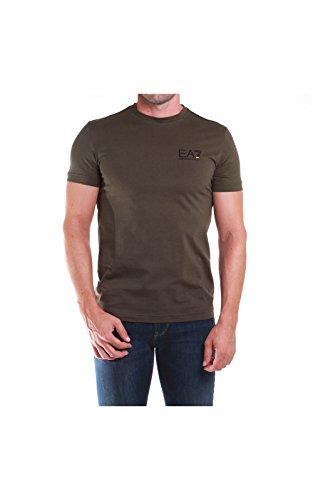 Emporio Armani EA7 t-shirt maglia maniche corte girocollo uomo verde EU M (UK 38) 6XPT51 PJ02Z 1852