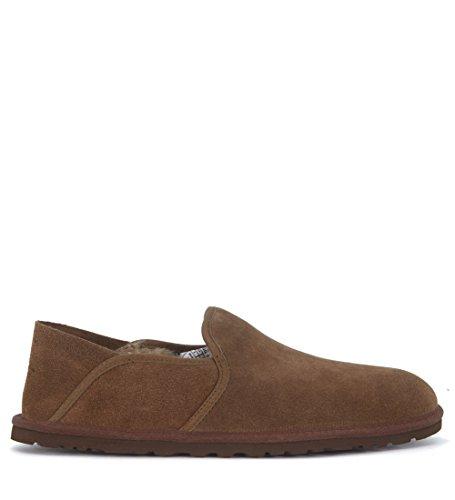 Chaussure Slip-On UGG Cooke en chamois cuir foncé