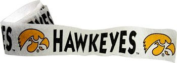 Iowa Hawkeyes Streamer (Single Roll) - 1