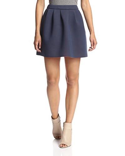 Sugarlips Women's Two Face Neoprene Skirt
