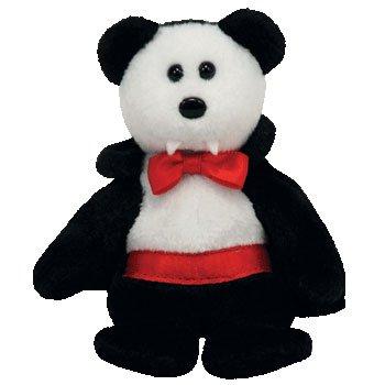 TY Halloweenie Beanie Baby - VAN PYRE the Bear