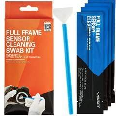 Full Frame (CCD/CMOS) Digital Camera Sensor Cleaning Swab Type 3 Cleaning Kit (Box of 10 X 24mm Swab) (Full Frame Digital compare prices)