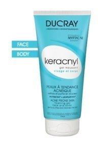 Ducray Keracnyl gel detergente viso e corpo 200ml