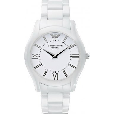 Emporio Armani AR1442 Mens Superslim White Watch