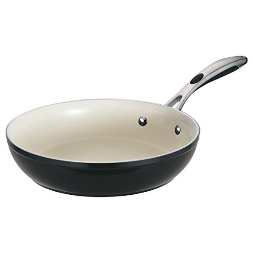 Tramontina 80110/020DS Gourmet Ceramica 01 Deluxe Fry Pan, 12-Inch, Metallic Black