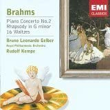 Brahms : Piano Concerto No 2 / Rhapsody in G Minor