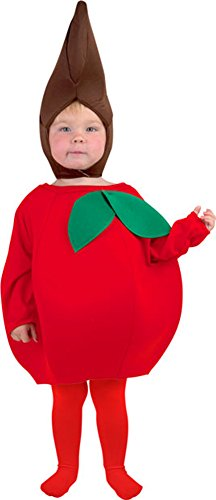 Toddler Apple Costume (Size:1-2T)