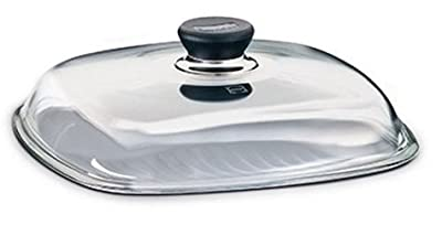 Berndes 10-1/4-Inch Square Glass Lid