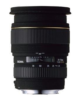 Sigma 24-70mm F2,8 EX DG Makro Objektiv