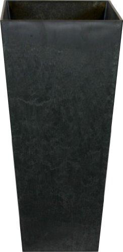 Ivyline Artstone 107821 Vase 26x49cm - Ella Black