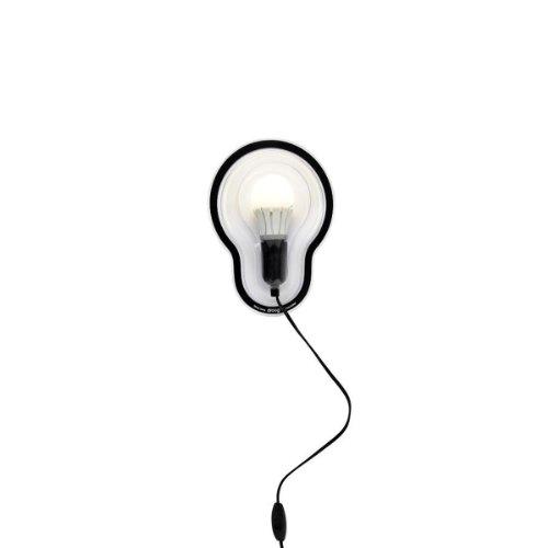 Droog Wand- Sticky lamp - transparent Chris Kabel, Kunststoff
