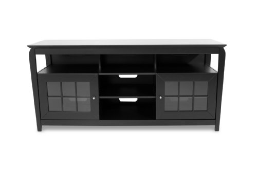 TechCraft BAY6028B 60-Inch Wide Flat Panel TV Credenza - Black photo B001VNBG3A.jpg