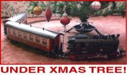 Candy Cane Christmas G Scale Train Set Harzlich Willkommen