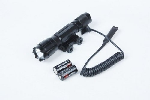 """Ultimate Arms Gear Tactical 130+ Lumens L.E.D Military Flashlight Led Tac - Light Kit With Strobe Feature For Fnh,Fal,Fiyar Scar,Ps90,Fs2000 Rifle-12/20 Gauge Shotgun With A 7/8"""" Weaver-Picatinny Rail Includes: Integral Weaver-Picatinny Mount, Remote Pres"""