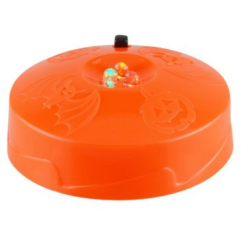 LED Strobe Light Toddlers Kids Jack O Lantern Scary Spooky Creepy Turkey Harvest Halloween Party Indoor Outdoor Decoration Decorations Decor Haunted House (Homemade Halloween Makeup Zombie)