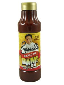 Emeril's Kicked Up BAM! BBQ Sauce, 18oz.