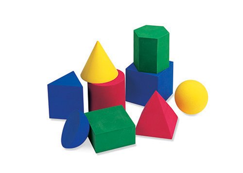 Learning Resources Hos Large Geosolids (Set Of 9) front-62156