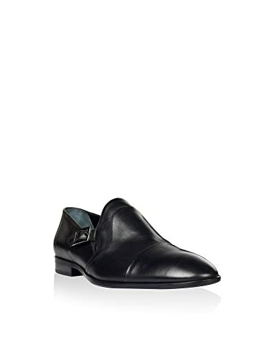 Hemsted & Sons Zapatos Monkstrap M00250 Negro