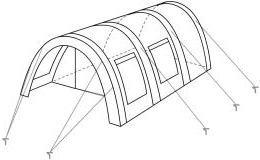 CampFeuer – Tunnelzelt mit versetzbarer Wand - 8