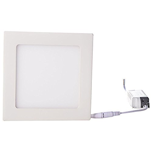 How Nice 15W Ac 110-265V 1350Lm 75 Leds Square Led Panel Ceiling Light For Kitchen ,Downlight Indoor Lighting Warm White