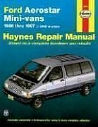 Ford Aerostar Mini-Vans, 1986-1997 (Haynes Manuals) front-373650