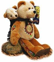 2000 Sacajawea Bear With Golden Dollar - 1