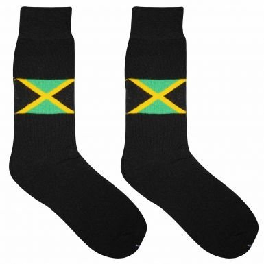 Pair of Jamaica Flag Adult Socks