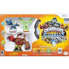 Skylanders Giants: Wii Starter Pack wtih Exclusive Glow In The Dark Cynder & Portal of Power