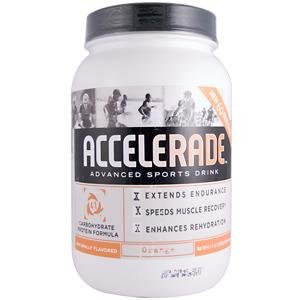 Pacific Health  Accelerade, Orange, 4.11 lb Tub, 60 Servings