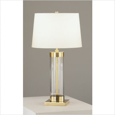 Andre Glass Cylinder Table Lamp