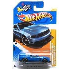 Hot Wheels 2012 New Models: 2012 Mustang Boss 302 Laguna Seca (blue) - 1