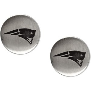 New England Patriots Logo Stud by US Gems